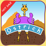 game android ostrich